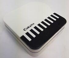 Piano Blanco Color Lentes de lentes de contacto KIT DE VIAJE-Espejo-Case-Pinzas