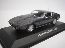 MASERATI GHIBLI COUPE 1969 BRAUN METALLIC 1/43 MAXICHAMPS 940123320 NEU