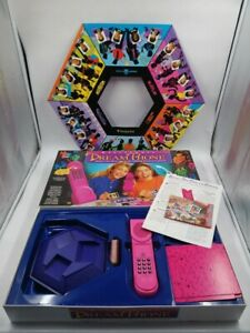 MB Games 1992 Electron Pink DREAM PHONE Board / Card Game Boxed COMPLETE? BH8