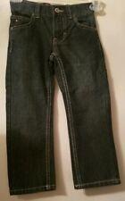 NWT TOMMY HILFIGER Boys Jeans Sz. 4 Straight Leg Denim Pants Adjustable Waist