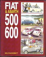 Fiat & Abarth 500 600 by Malcolm Bobbitt Pub Veloce 1993 Topolino to Cinquecento