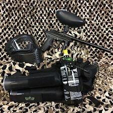 NEW Azodin Kaos EPIC Paintball Marker Gun Package Kit - Black