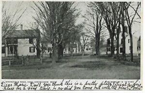 Springfield Road East Longmeadow, MA,MASS Postcard 1907