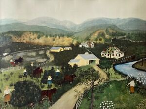 IT'S HAYING TIME by Grandma Moses