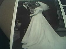 magazine article / picture - 1959 wedding leeds j l watts / j wilson