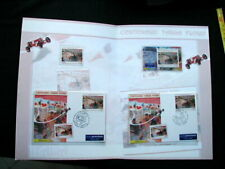 2006 Italy 100th TARGA FLORIO auto racing official folder card stamps cover FDC