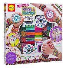 Ultimate Bead & Weave Bracelet Party Children's Arts & Crafts by Alex 137P