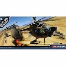Modelo Helicóptero Academia Hughes Remolque defender 500D 1:48 Escala