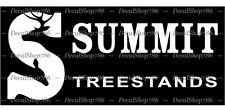 SUMMIT TreeStands - Hunting/Outdoors - Vinyl Die-Cut Peel N' Stick Decal/Sticker