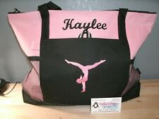 Gymnastics Handstand Personalized Tote Bag Gymnast Bag