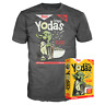 Funko Star Wars Crispy Yodas Cereal Box T Shirt Size Small Yoda Exclusive