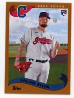 2002 Topps #251 LOGAN ALLEN Cleveland Indians ROOKIE CARD RC - 2020 Archives