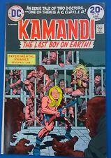 KAMANDI #16 (1974) DC Comics Jack Kirby FINE+
