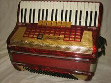 SCANDALLI Akkordeon 120 Bässe Made in Italy accordion Tasteninstrument &