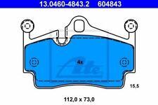 Kit de plaquettes de frein PORSCHE 911 Cabrio (997) 4006633320276