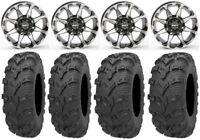 "New Kawasaki Teryx 750 MASSFX KT 25/"" ATV Tires 25x8-12 25x10-12 4Set 2003-2013"
