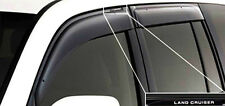 Premium Weathershields Door Window Visor TOYOTA Landcruiser FJ200 LC200 08