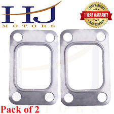 2PCs T3 Flange T3T4 GT35 T04E GT30 4 Bolts Turbo Manifold Inlet Exhaust Gasket