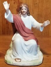 """1996 Homco Greatest Stories Ever Told """"Sermon on the Mount"""" Figurine 1420"""