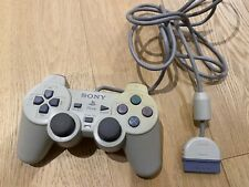 Sony PSone playstation dualshock controller ps1 ps2 TESTED works SCPH-110 white