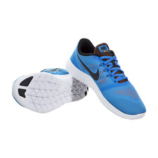 47e5b9ca66802 Nike Free RN (GS) 833989-400 7Y Athletic Running Shoes Photo Blue Brand