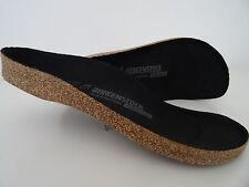 BIRKENSTOCK Cork-Footbed SUPER BIRKI 38/L7M5 R New! 1201127 Black