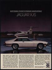 1979 JAGUAR XJ-S Luxury Car - Private Jet - VINTAGE AD