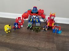 Rescue Bots Transformer dinosaur mixed lot