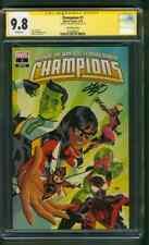 Champions 1 CGC SS 9.8 Michael Cho Variant Miles Morales Ms Marvel Movie 3/19