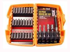 Am Tech 29 pc Driver Set Slotted Hex Phillips Pozi Torx with Magnetic Screw Guid