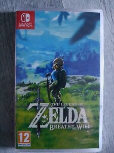 Jeu Switch The Legend Of Zelda Breath Of The Wild