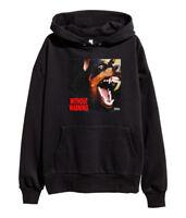 21 Savage Without Warning Hoodie Hip Hop Rap Sweatshirt Esskeetit merch Black
