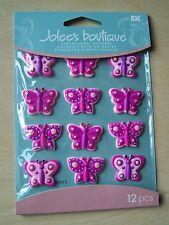 JOLEE's / Jolees 3D stickers-cabochons - Farfalle