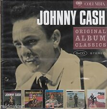 Johnny Cash / The Fabulous, Hymns By, Ride this Train, Orange... u.a (5CDs,OVP)