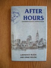 Lawrence Block After Hours SIGNED 1st HC Limited Ed