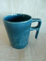 """Sadler Pottery  England  Teal Coffee or Tea Mug    3 7/8"""""""