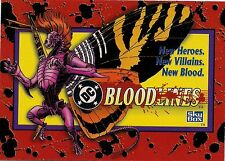 1993 DC Bloodlines Collectors Card Set by Sky Box - Hand Collated