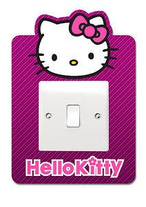 Hello Kitty Light Switch Vinyl Sticker Surround