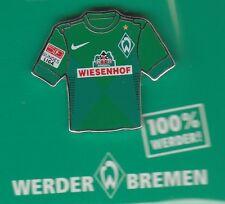 Werder Bremen  Pin / Pins: Trikot Pin - grün - Wiesenhof -  Bundesliga Patch