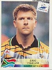 N°184 ERIC TINKLER SOUTH AFRICA PANINI WORLD CUP 1998 STICKER VIGNETTE 98