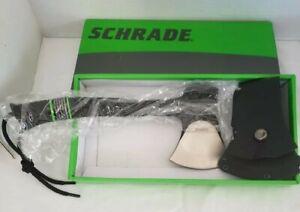 Schrade Scaxe10 w/strap New, open box