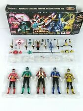 SH Figuarts Power Rangers Super Samurai Metallic Action Figure Set Bandai SDCC