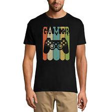 ULTRABASIC Homme T-shirt Retro Gamer - Joueur Rétro - T-shirt Graphique Vintage