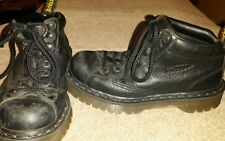 Dr.Martins air wait with Bouncing Souls black ankle boots mens size 6 m