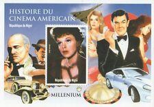 Judy Garland James Bond MARLON BRANDO AMERICAN CINEMA Gomma integra, non linguellato FRANCOBOLLO SHEETLET