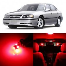 14 x RED Map Dome Interior LED Lights Package For 2000- 2005 Chevy Impala +TOOL