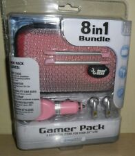 dreamGear 8 in 1 Bundle Gamer Pack for Nintendo DS Lite .. Pink