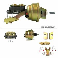 """1960-62 Chevy Truck FW Mount Power 7"""" Dual Brake Booster Kit Disc/Drum classic"""