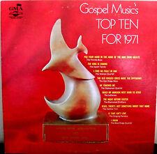 Southern Gospel Music's Top Ten For 1971 LP Album