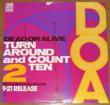 DEAD OR ALIVE - TURN AROUND AND COUNT 2 TEN - VERY RARE! JAPAN PROMO Only 12'